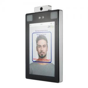 iFaceX TD - Biometrický terminál na rozpoznávanie tváre s meraním teploty